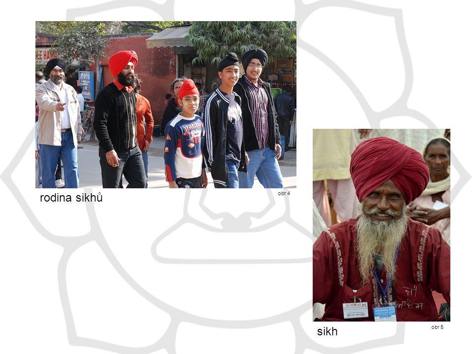 rodina sikhů obr 4 obr 5 sikh