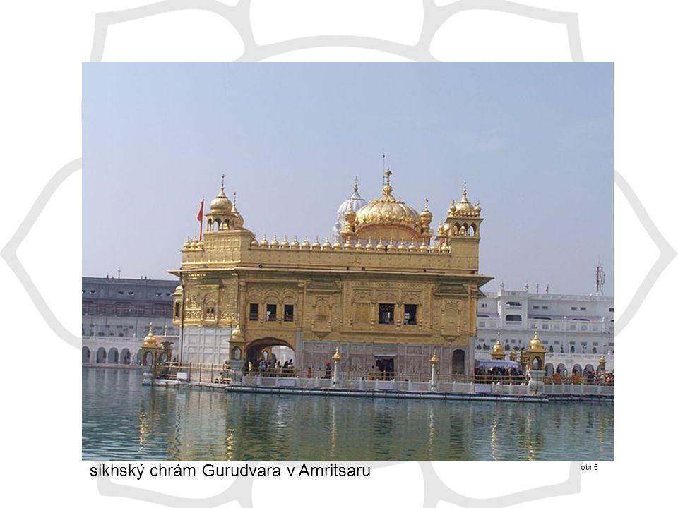 sikhský chrám Gurudvara v Amritsaru obr 6