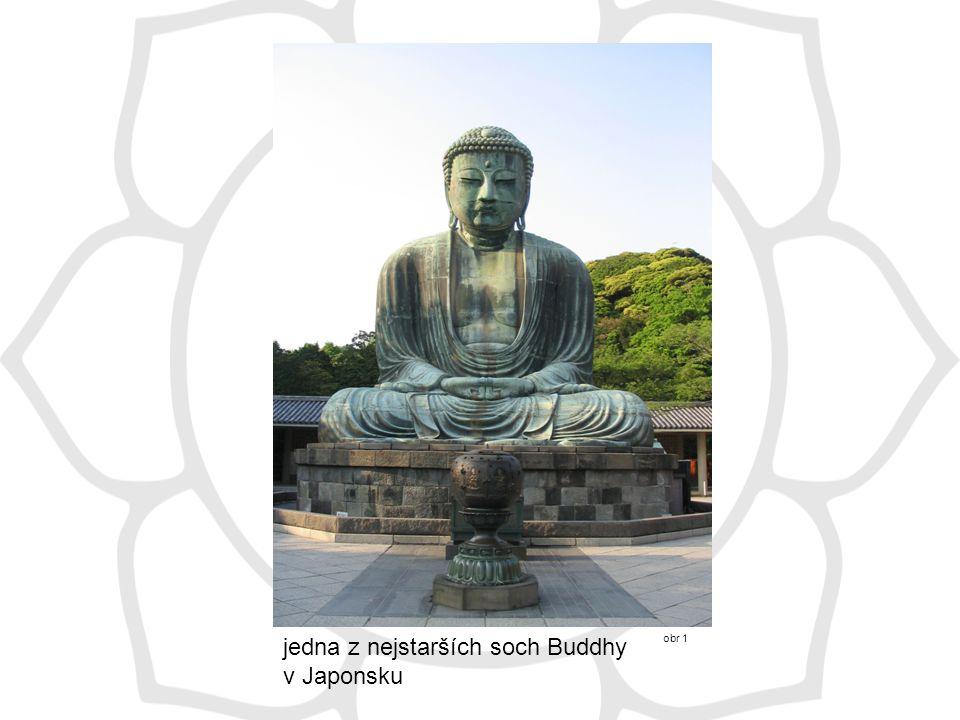 jedna z nejstarších soch Buddhy v Japonsku obr 1