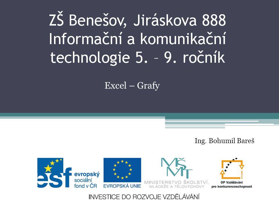 Excel – Grafy Ing. Bohumil Bareš
