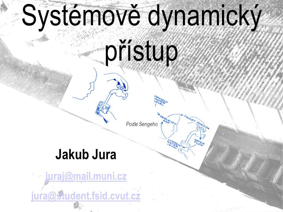 Systémově dynamický přístup Jakub Jura juraj@mail.muni.cz jura@student.fsid.cvut.cz Podle Sengeho