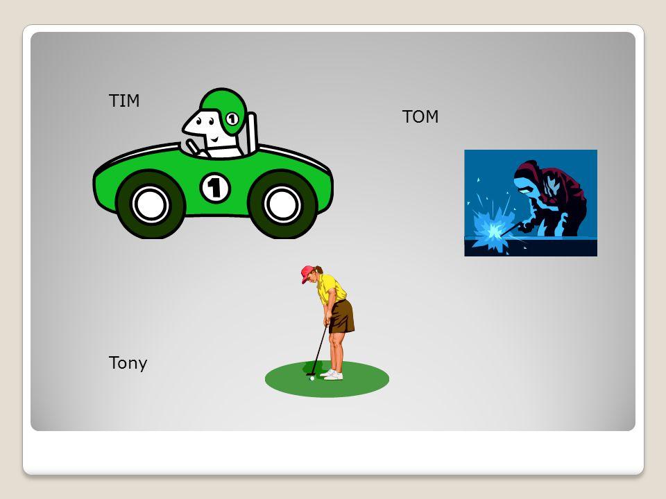 TIM TOM Tony