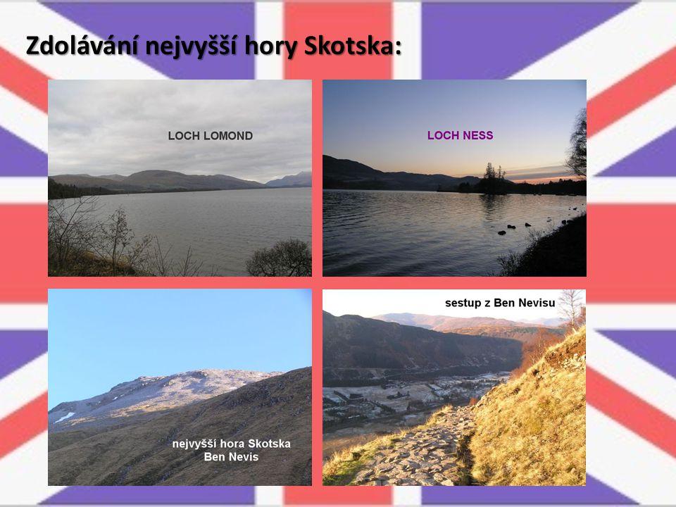 Zdolávání nejvyšší hory Skotska: