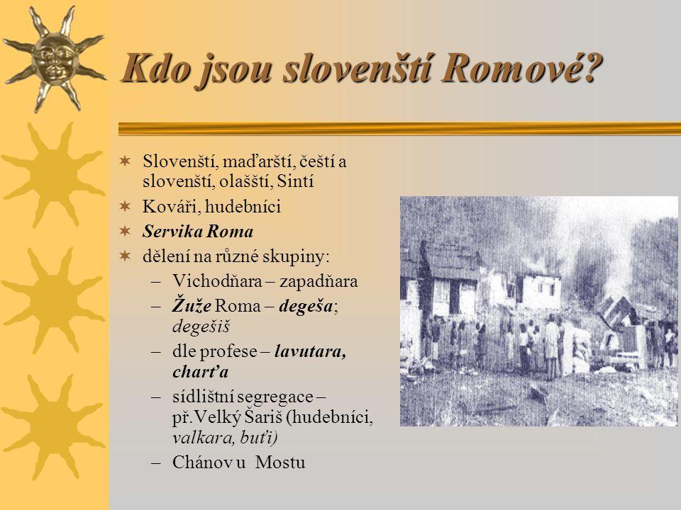 Kdo jsou slovenští Romové.
