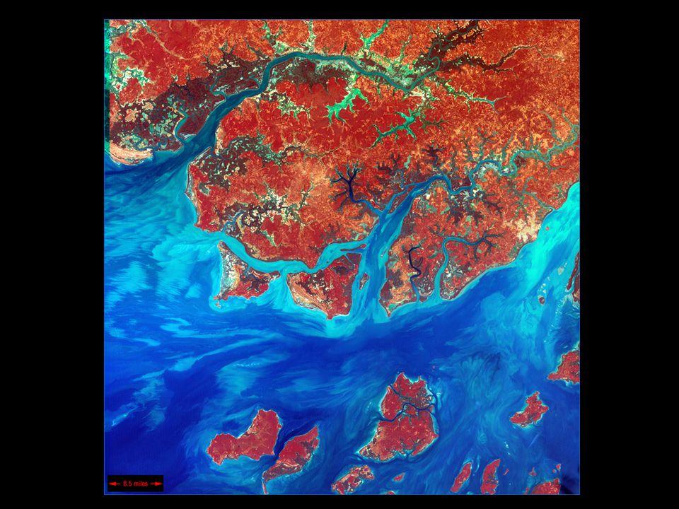 Členění zemského povrchu 1)Pevnina(souš) - části litosférických desek vystupující nad hladinu svět.oc.
