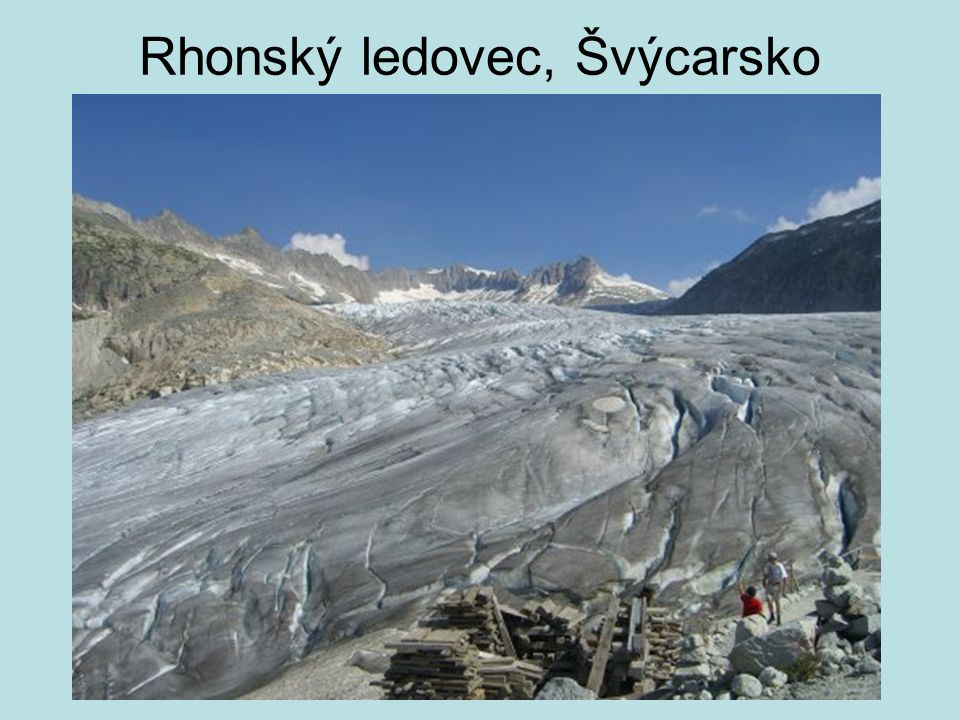 Rhonský ledovec, Švýcarsko