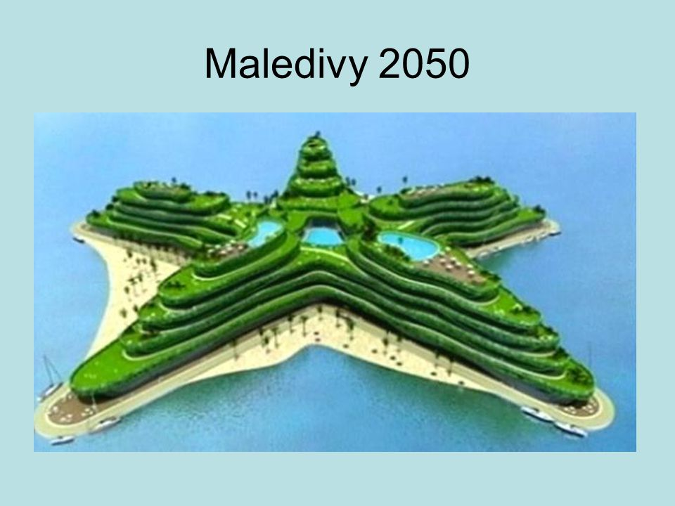 Maledivy 2050
