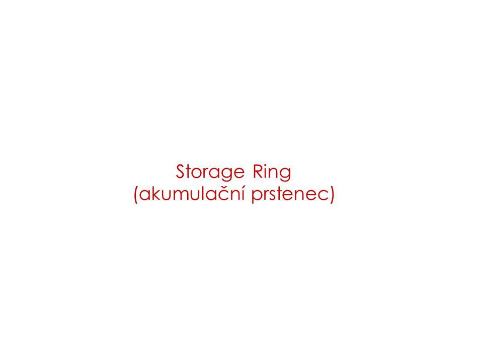Storage Ring (akumulační prstenec)