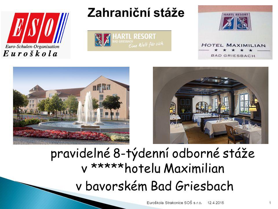 12.4.2015 Euroškola Strakonice SOŠ s.r.o.