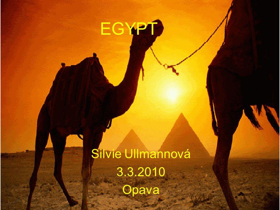 EGYPT Silvie Ullmannová 3.3.2010 Opava