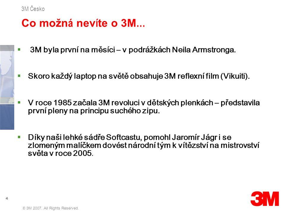 5 3M Česko © 3M 2007.All Rights Reserved.