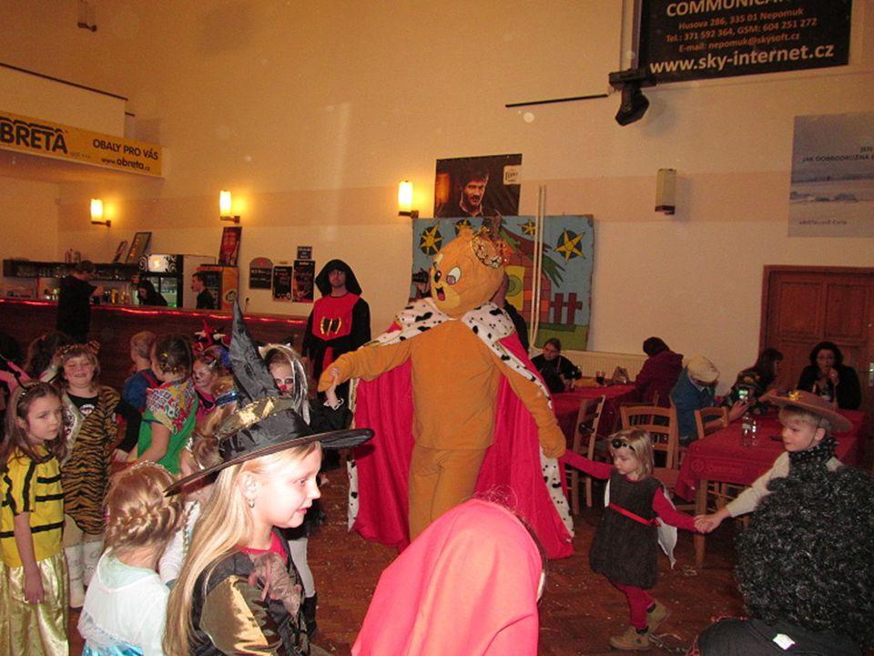 Pusíkovci, kteří organizovali dětský karneval