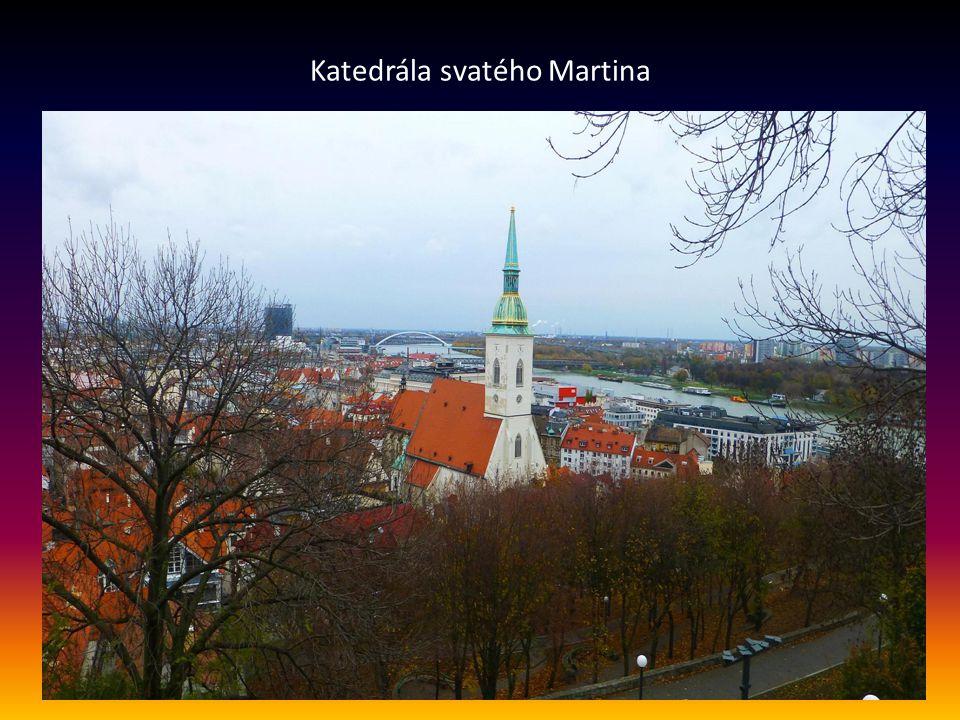 Pohled na šířku řeky Dunaje