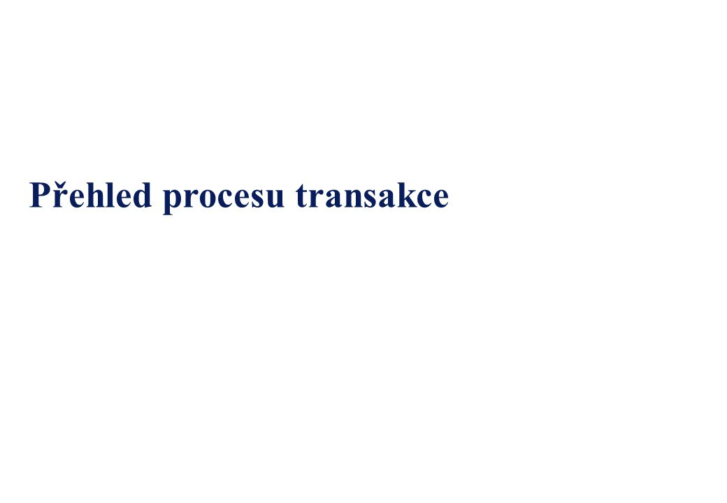 2 Obsah OddílČíslo stránky 1.Přehled procesu3 1.1.