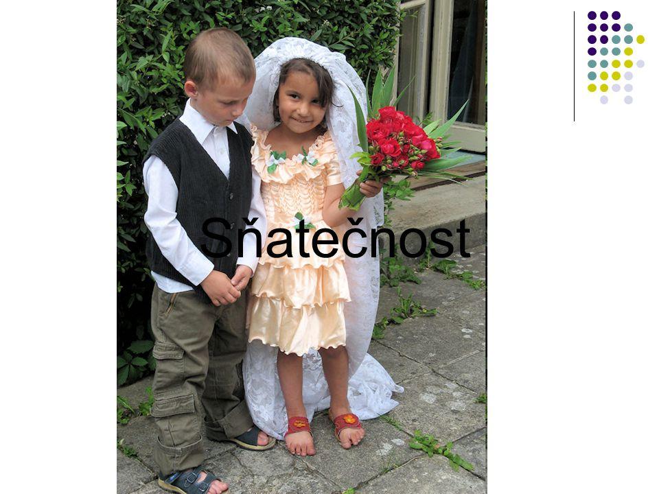 Sňatečnost je demografický proces, který studuje zakládání manželství na základě zákonem daných podmínek.