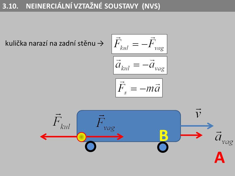 V NVS nezůstává izolované těleso v klidu nebo v rovnoměrném přímočarém pohybu neplatí první a třetí NPZ.