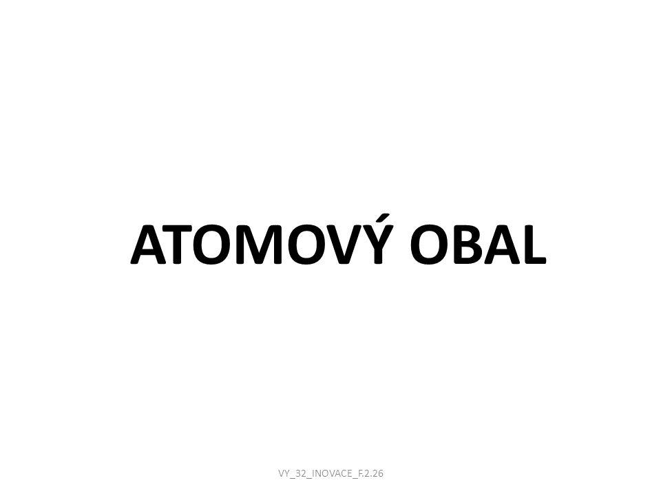 ATOMOVÝ OBAL VY_32_INOVACE_F.2.26