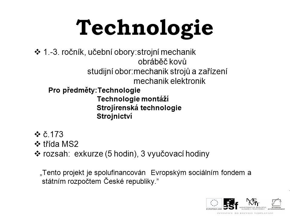 Technologie  1.-3.
