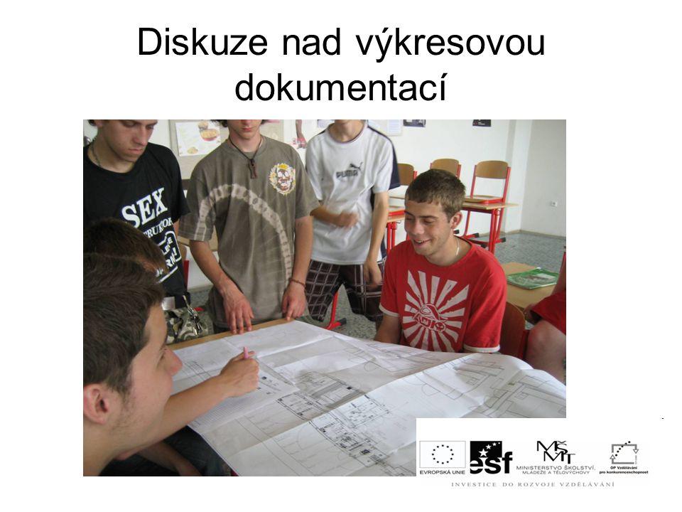 Diskuze nad výkresovou dokumentací