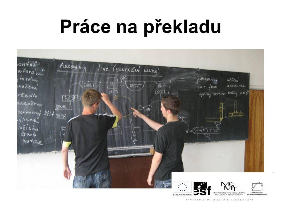Práce na překladu