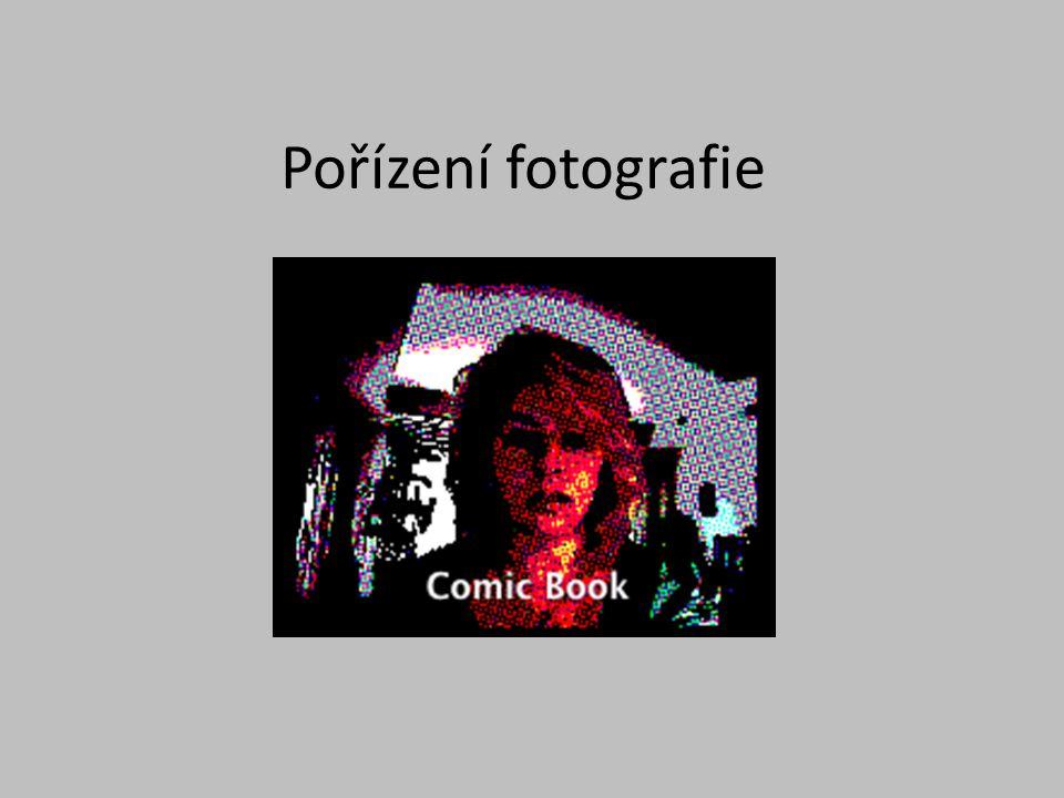 Pořízení fotografie