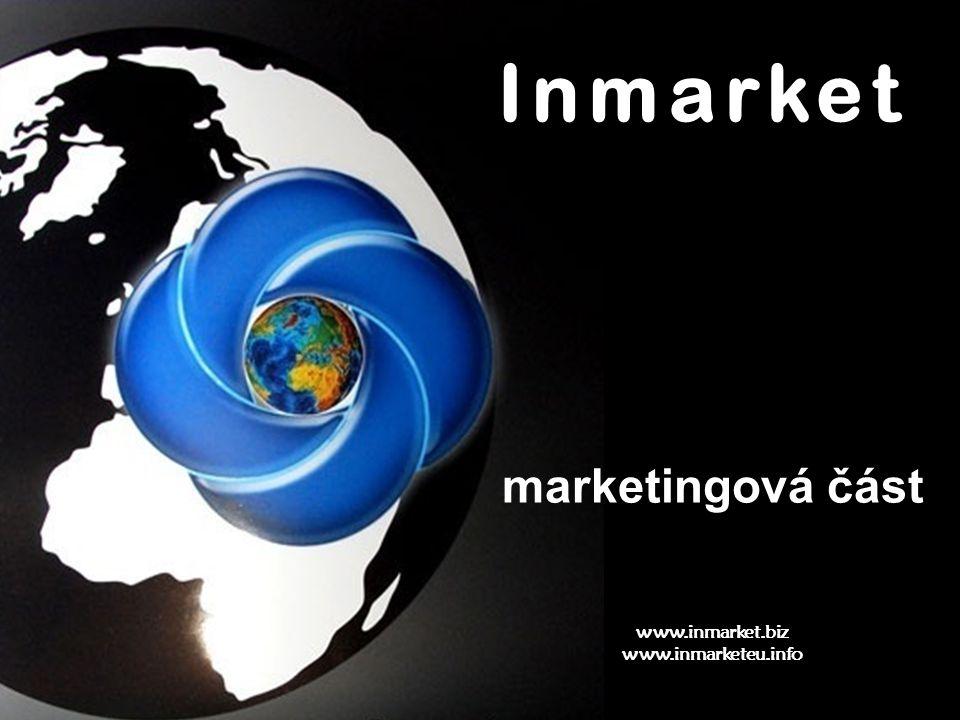 Inmarket www.inmarket.biz www.inmarketeu.info marketingová část