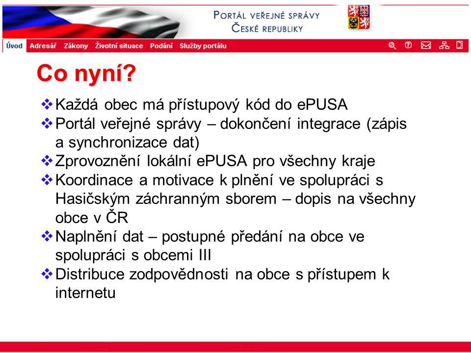 Portál veřejné správy © 2002 IBM Corporation ISSS 2003 Co nyní?  Každá obec má přístupový kód do ePUSA  Portál veřejné správy – dokončení integrace