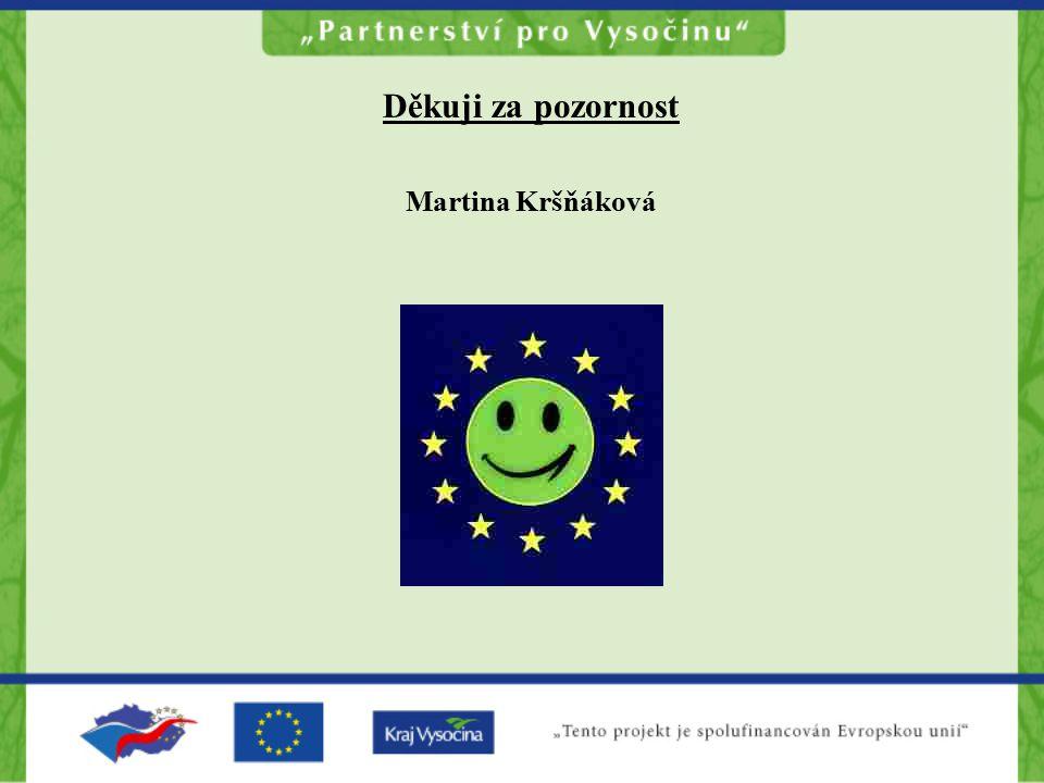 Děkuji za pozornost Martina Kršňáková
