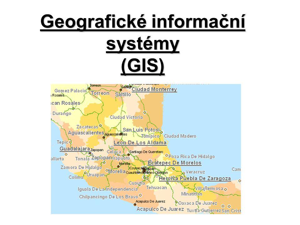 Co je to GIS.