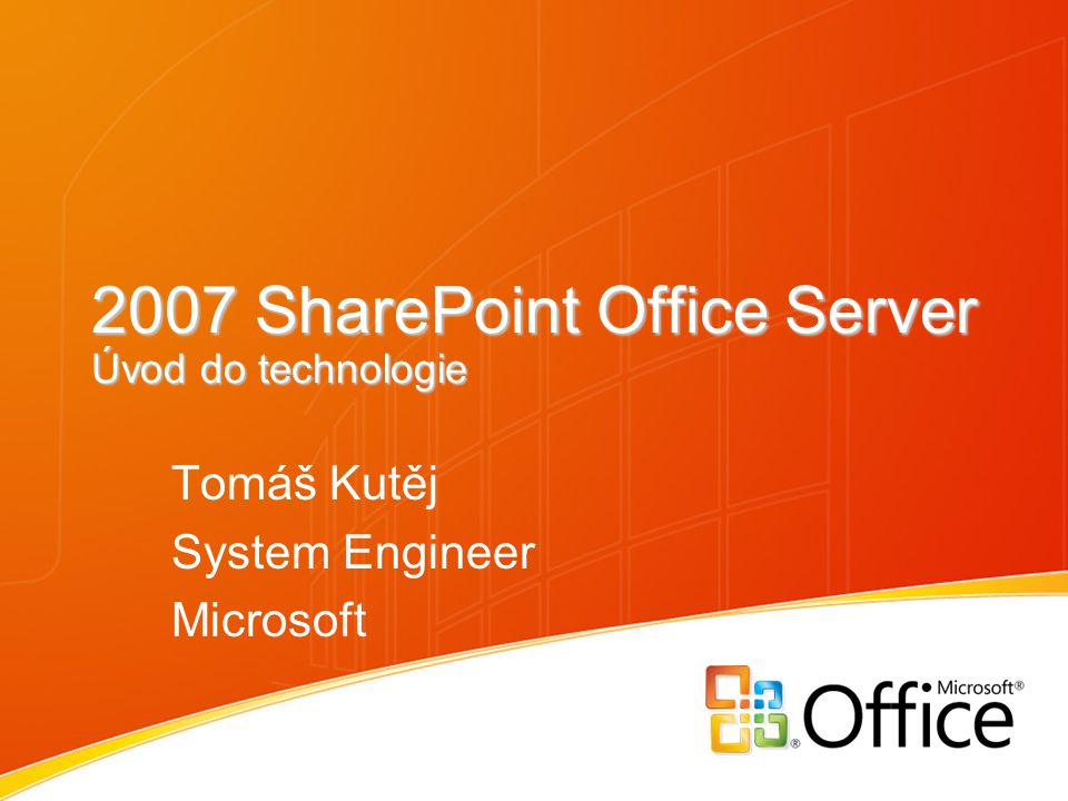 The Microsoft Platform Glow SharePoint, explode and show architecture (next slide)