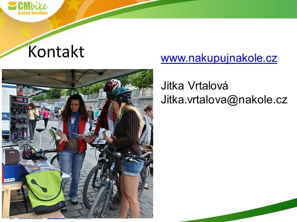 Kontakt www.nakupujnakole.cz Jitka Vrtalová Jitka.vrtalova@nakole.cz