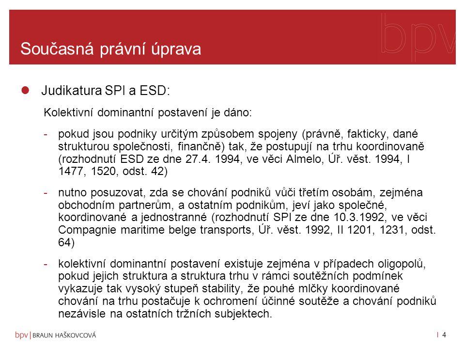 l 3l 3 Současná právní úprava čl.