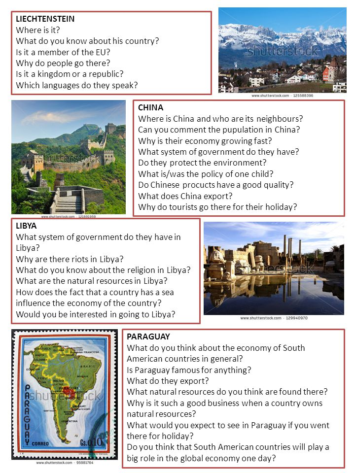 LIECHTENSTEIN Where is it? What do you know about his country? Is it a member of the EU? Why do people go there? Is it a kingdom or a republic? Which