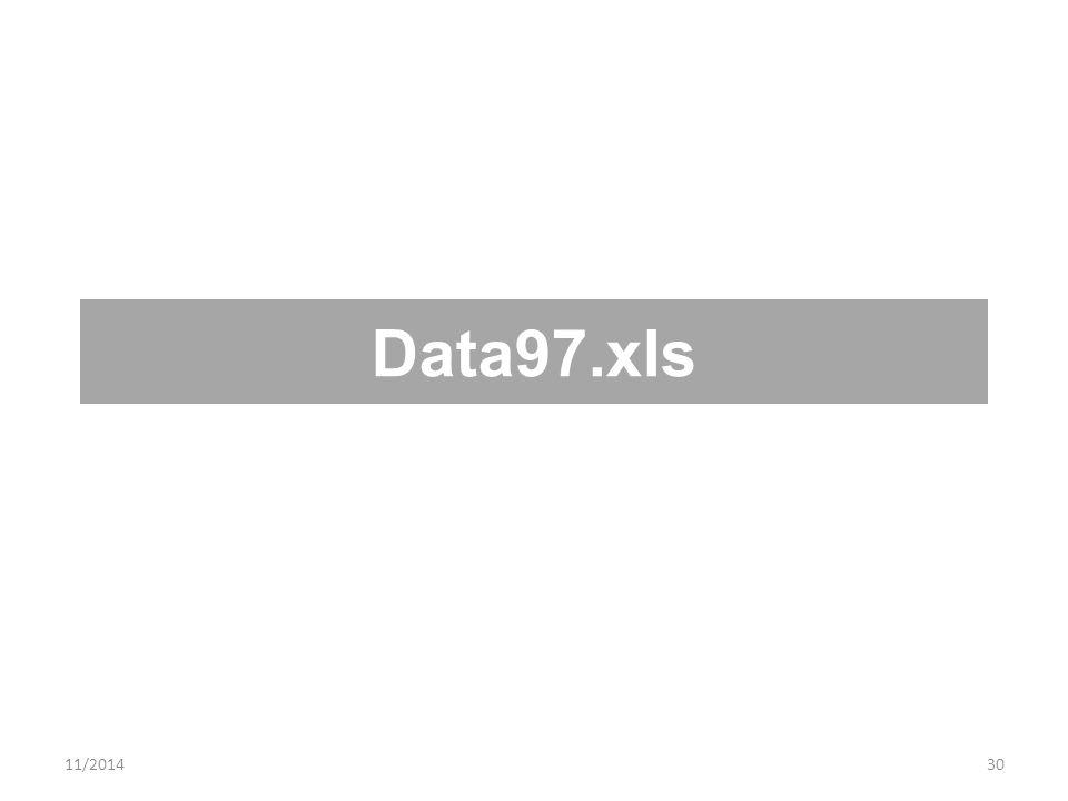 11/201430 Data97.xls