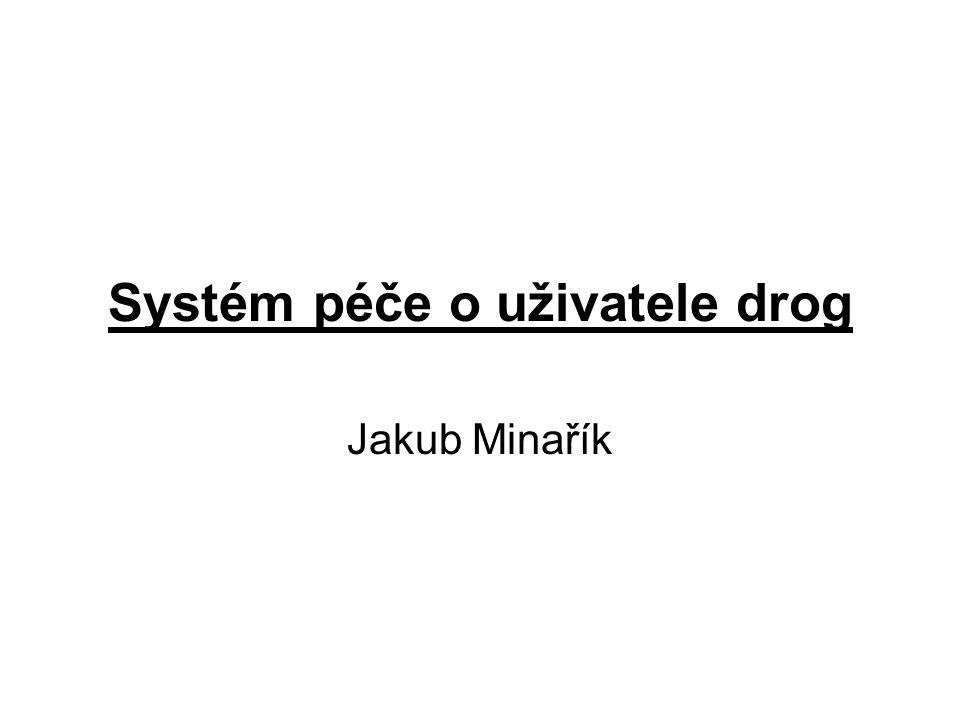 Systém péče o uživatele drog Jakub Minařík