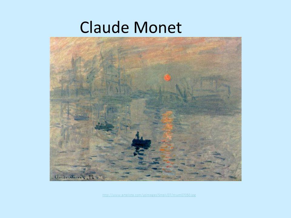 Zápis Impresionismus Umělecký směr konce 19.