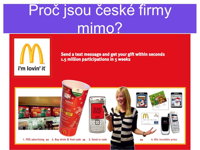 Proč jsou české firmy mimo?