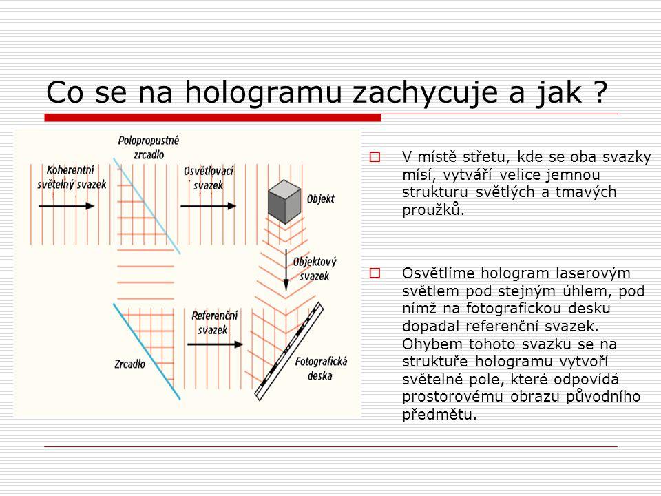 Na co se hologramy používají .