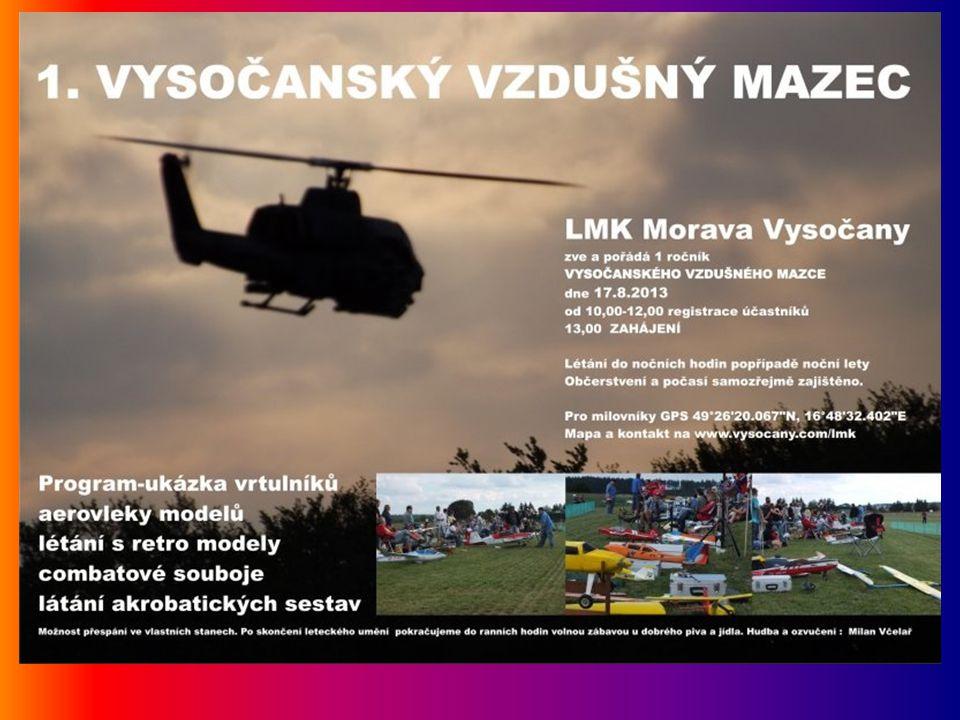 Vysočany Odpolední část leteckých modelářů ve Vysočanech.