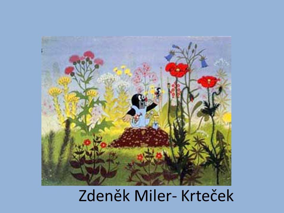 Zdeněk Miler- Krteček