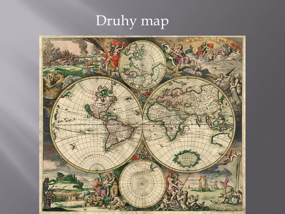 Mapy lze členit z mnoha hledisek (účel užití, způsob vzniku, vyjadřované skutečnosti, měřítka, územního rozsahu atd.).