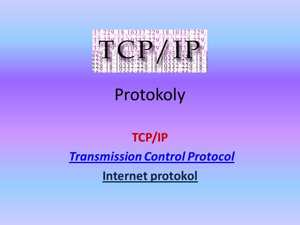Rodina protokolů TCP/IP obsahuje sadu protokolů pro komunikaci v počítačové síti a je hlavním protokolem celosvětové sítě Internet.