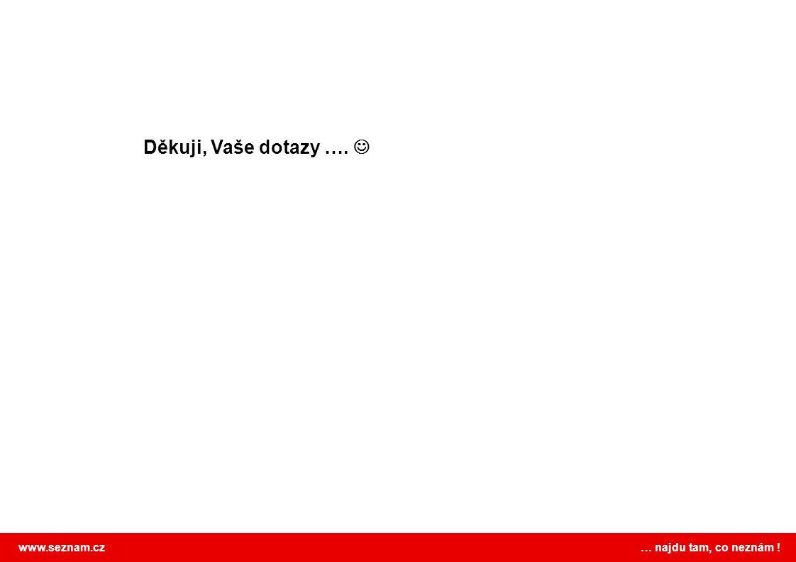 www.seznam.cz … najdu tam, co neznám ! Děkuji, Vaše dotazy ….
