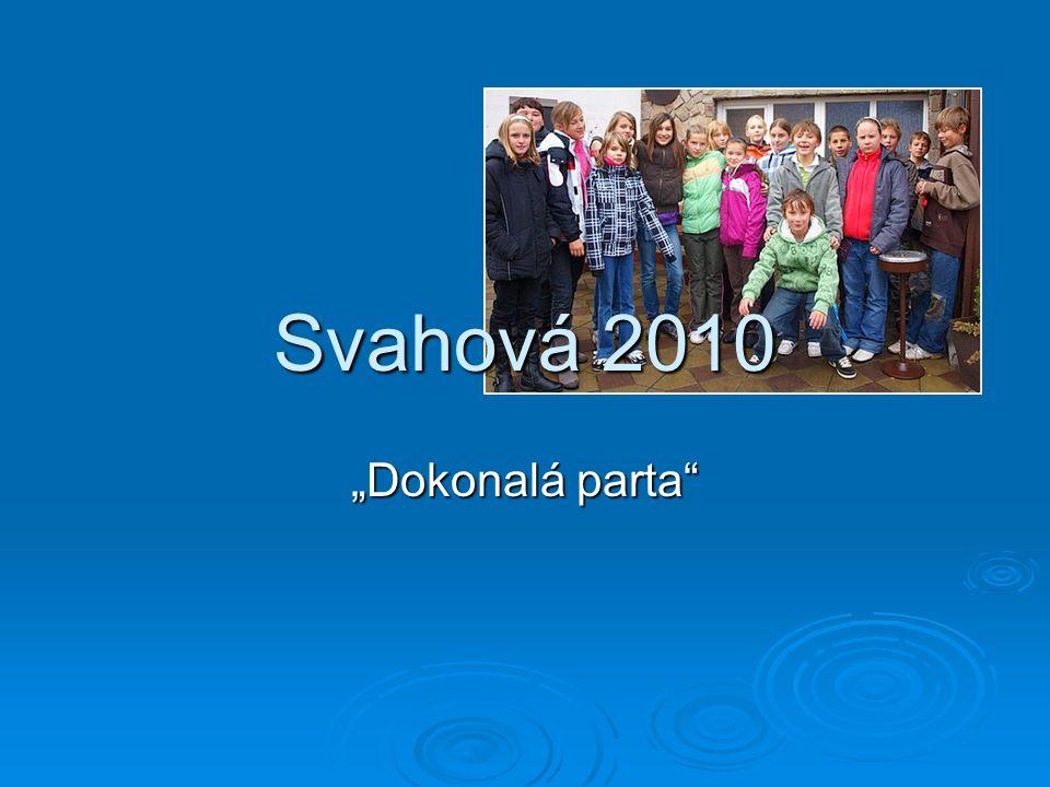 """Svahová 2010 """"Dokonalá parta"""