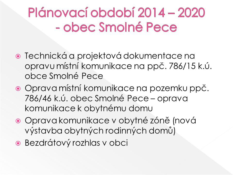  Technická a projektová dokumentace na opravu místní komunikace na ppč.