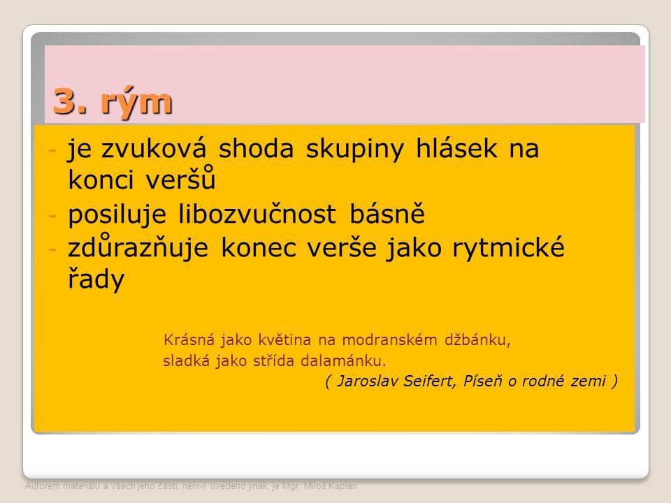 Jan Neruda – Podzimní – práce s textem Úkoly k práci s textem: 1.