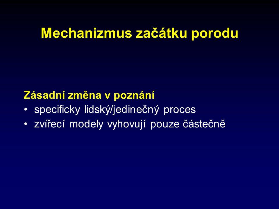 Bílkoviny - excitabilita myocytů Těhotenství Draslíkový kanál řízen koncentrací Ca 2+ elektrickým napětím ( ↑ efflux K+)  polarizace, resp.