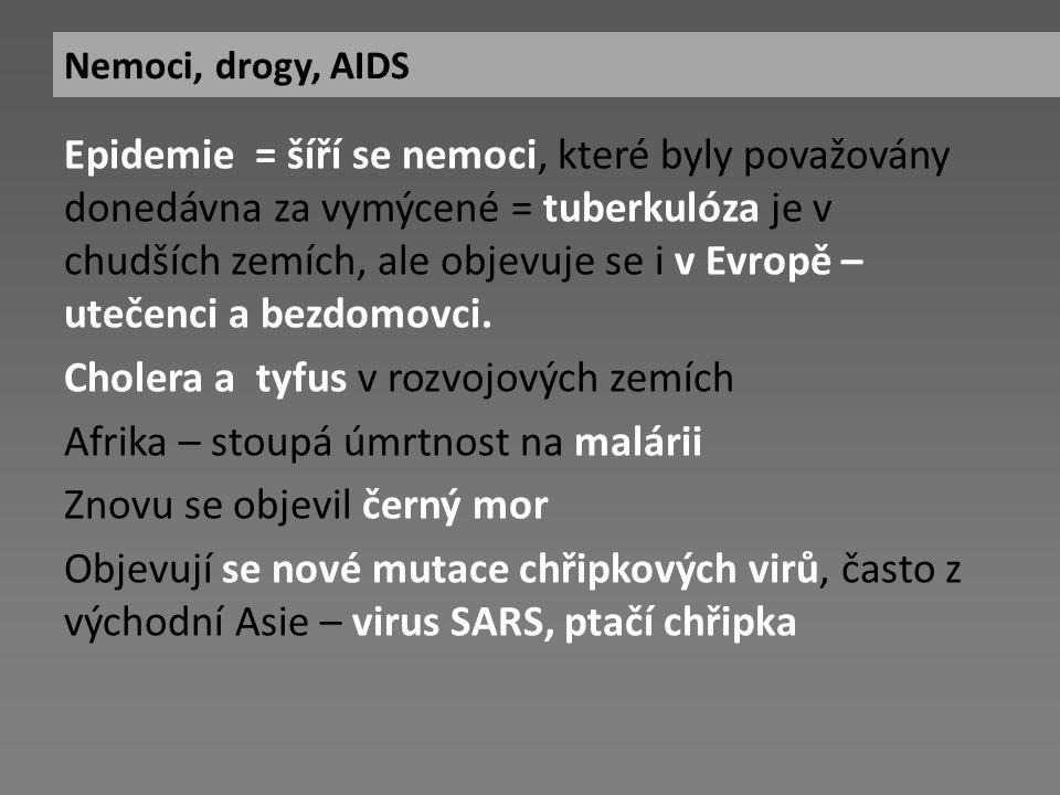AIDS (syndrom získaného selhání imunity) byl objeven počátkem 80.