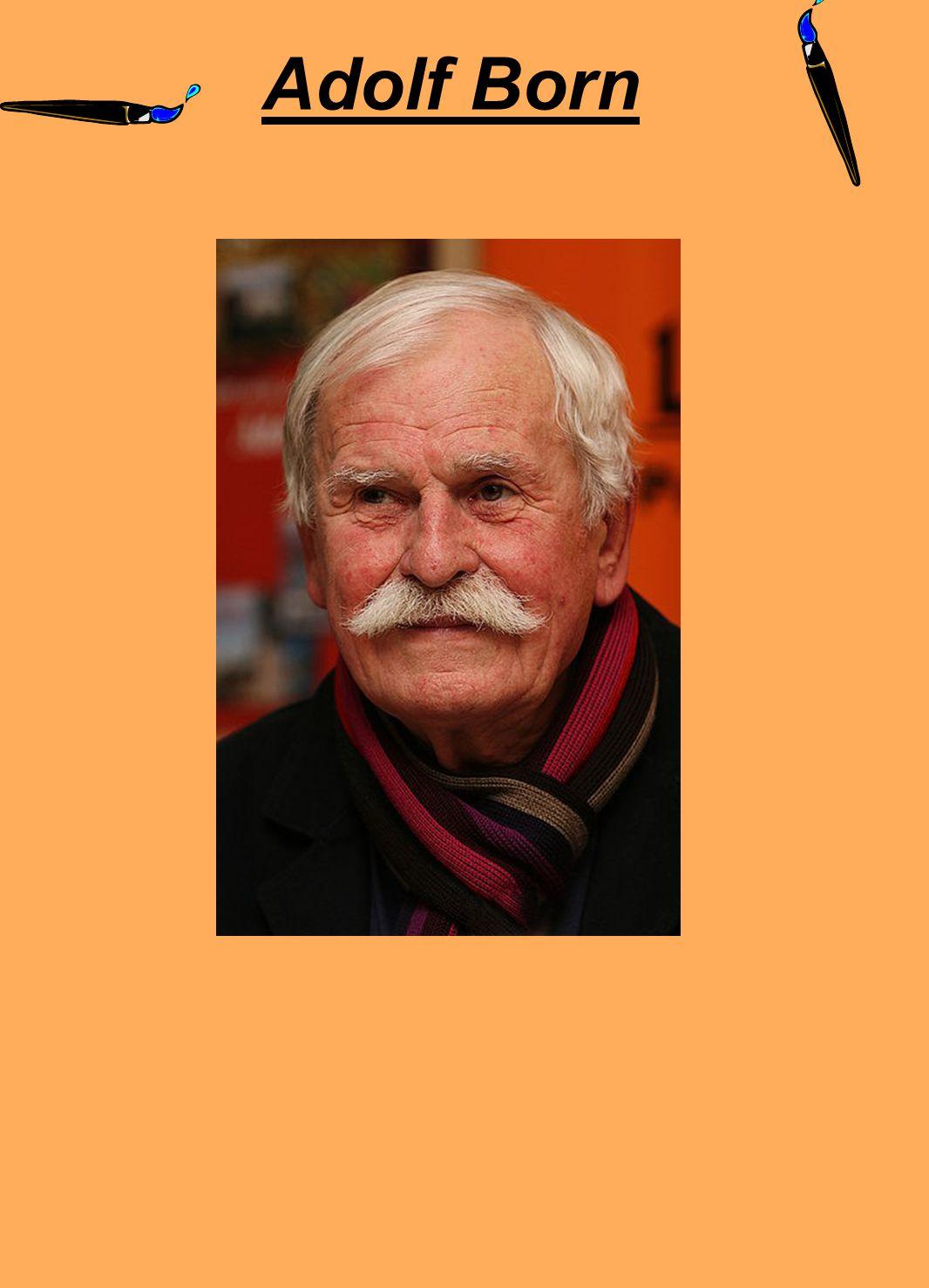 Narodil se v Českých Velenicích, kde se mluvilo česky i německy.