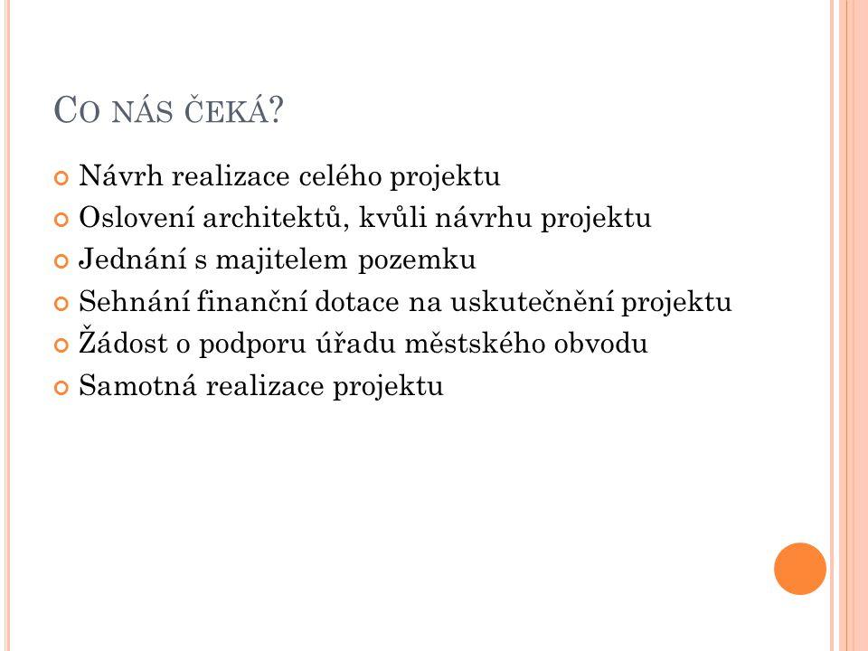 C O NÁS ČEKÁ .